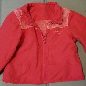 OshKosh B'gosh Jackets & Coats - Pink reversible jacket